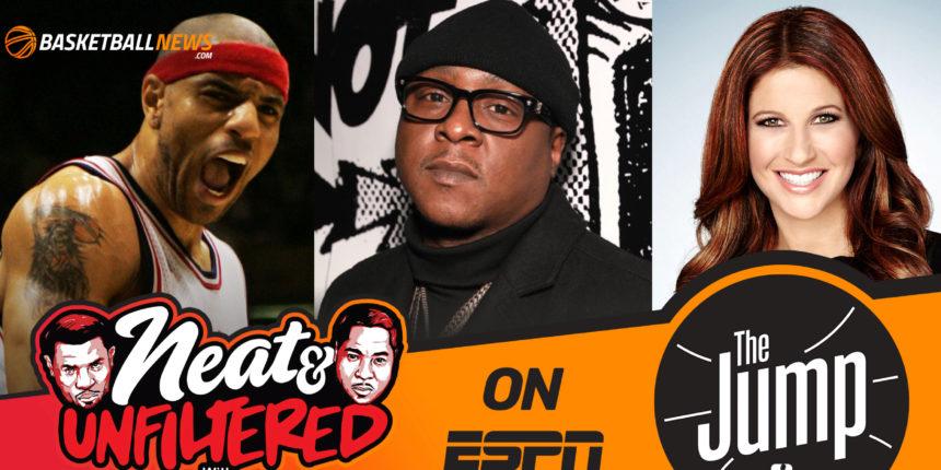 Kenyon Martin, Jadakiss discuss 'Neat & Unfiltered' on ESPN's The Jump