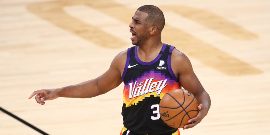 Chris Paul is always on (his) time