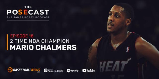 The Posecast: Mario Chalmers on Kansas heroics, Miami's Big 3 and Kobe Bryant