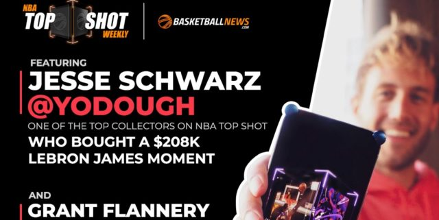 NBA Top Shot Weekly: Jesse Schwarz, Grant Flannery