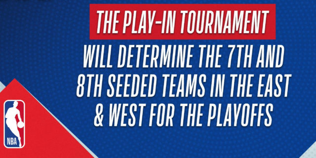 Explaining the 2021 NBA Play-In Tournament structure