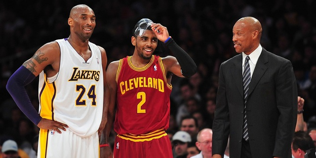 Kyrie Irving details first interaction with Kobe