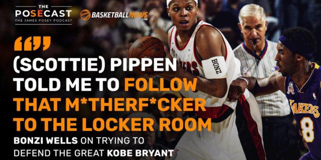 Bonzi Wells on matching up with Kobe Bryant, Lakers-Blazers rivalry