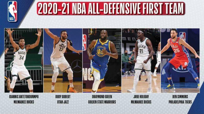 NBA announces 2020-21 All-Defensive teams