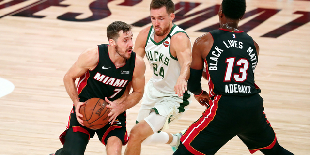 Adebayo (neck), Dragic (foot) 'out' for Game 3