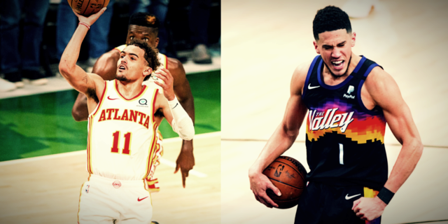 The fearlessness of Trae Young and Devin Booker is on display