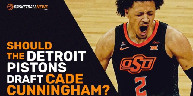 Should the Pistons draft Cade Cunningham with the No. 1 pick?