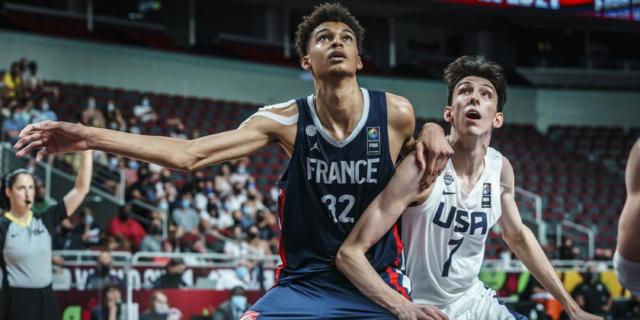 US overcomes rising French star Wembanyama to win U19 basketball title