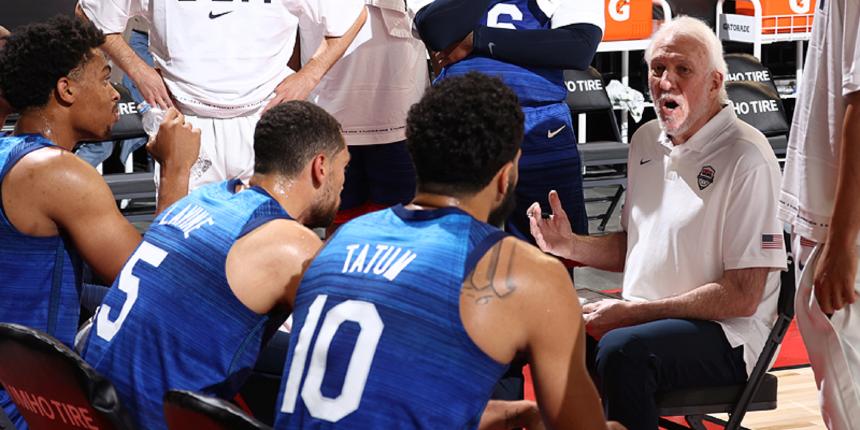 For Team USA, losses in Las Vegas do not matter