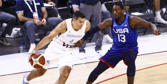 USA bounces back, tops Argentina 108-80 in pre-Tokyo tune-up