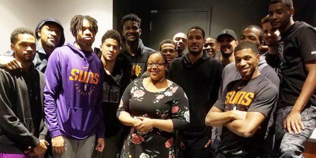 How an emotional conversation made Emerald Garner a lifelong Suns fan