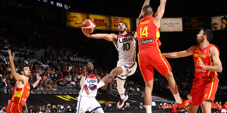 Ready or not for Tokyo Olympics, Team USA beats Spain in final tune-up