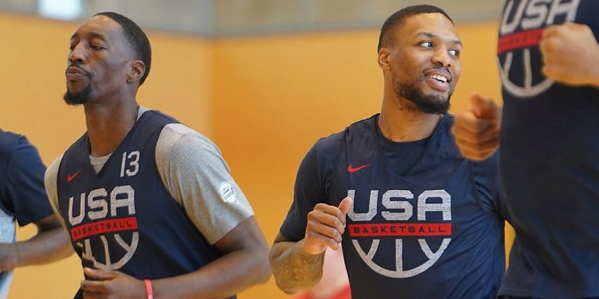 Team USA players learning differences between NBA, Olympic hoops