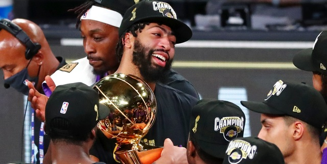 The Lakers' trade for Anthony Davis paid off