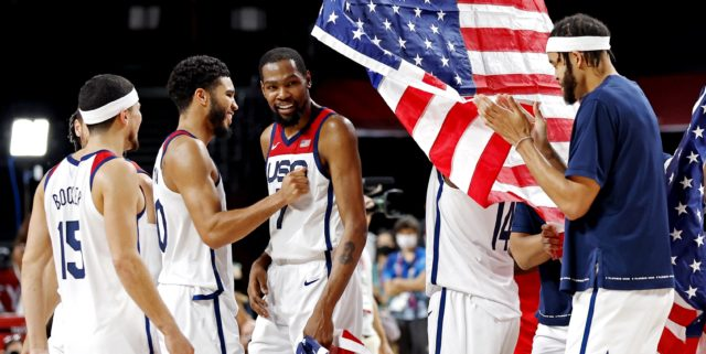 Another gold medal: Team USA beats France 87-82 to win Tokyo title