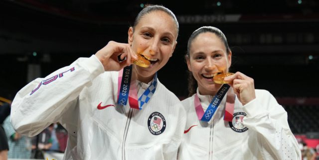 US women's national team rolls to gold medal in Bird's last Olympics