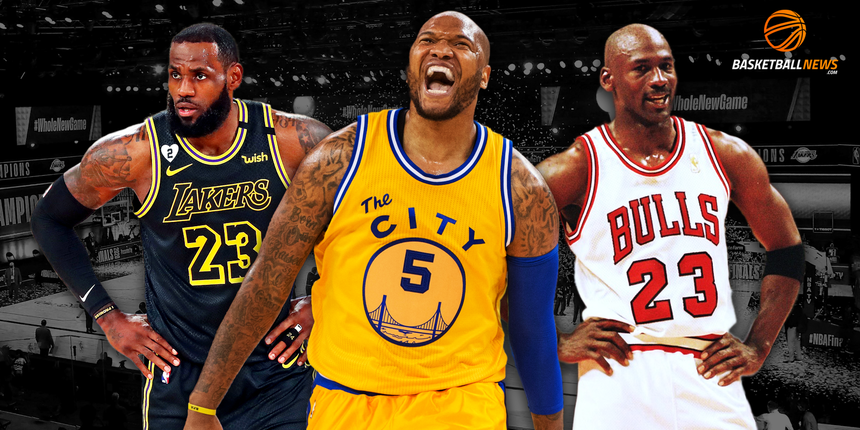 Mo Speights: Don't disrespect MJ, Kobe to build up LeBron
