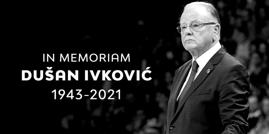 Dusan Ivkovic, decorated Serbian basketball coach, dies at 77