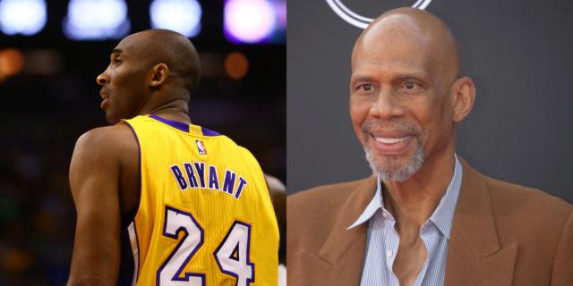 Kareem Abdul-Jabbar didn't want Kobe Bryant to emulate one player