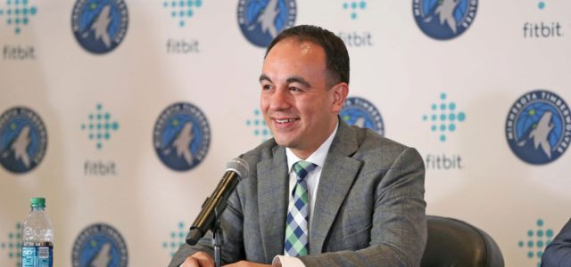 Wolves part ways with president of basketball operations Gersson Rosas