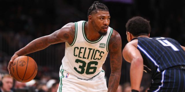 What does Marcus Smart at point guard look like for the Celtics?