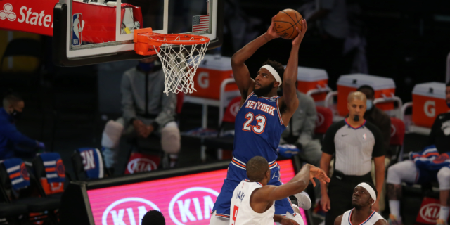 It's been three years, and Mitchell Robinson still has a lot to prove