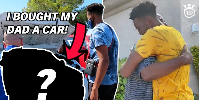 Life Outside the NBA Vlog: Troy Brown Jr. surprises dad with new truck