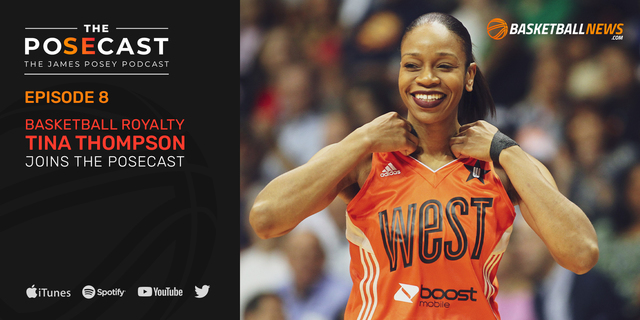 The Posecast: Tina Thompson on winning 4 titles, her HOF induction, more