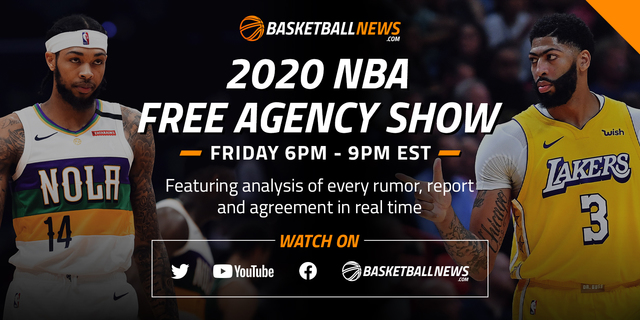 BasketballNews.com's 2020 NBA Free Agency Show