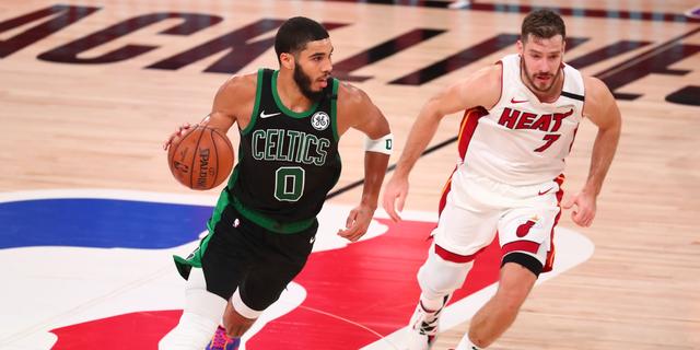 Jayson Tatum agrees to max rookie extension with Celtics