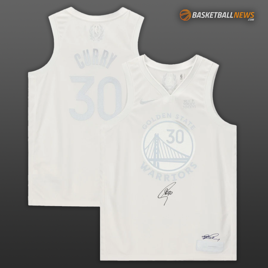 Win A Steph Curry Autographed Jersey